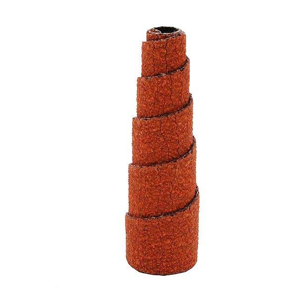 Pacote com 20 Rolo Espiral de Lixa R920 Grão 120 12,7 x 38 x 3 mm