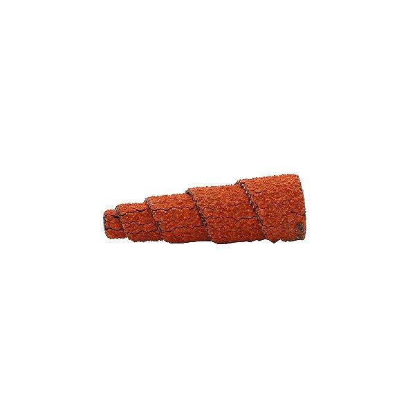 Pacote com 20 Rolo Espiral de Lixa R920 Grão 60 12,7 x 38 x 3 mm