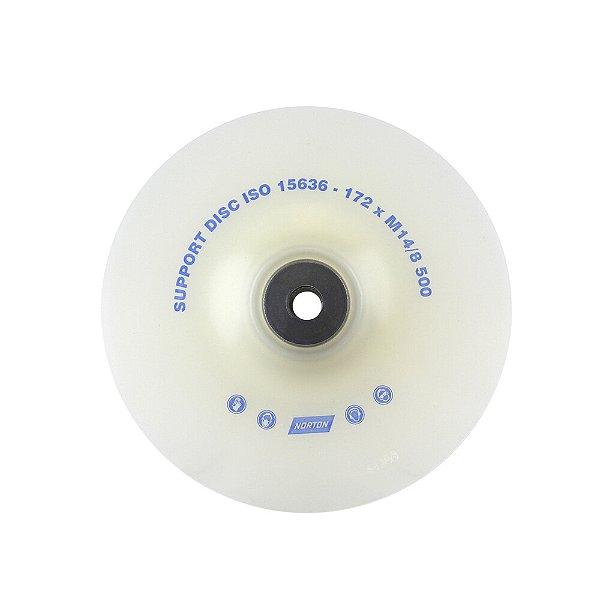 Caixa com 5 Suporte de Nylon para disco de Fibra 180 mm Rosca M14