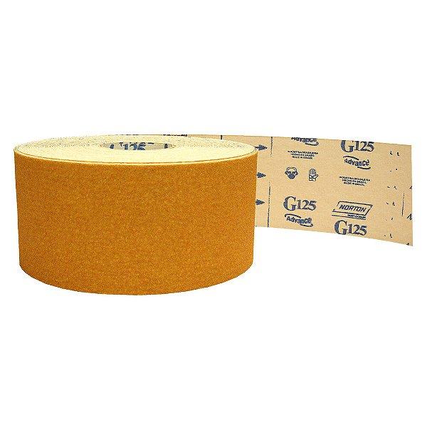 Pacote com 1 Rolo de Lixa Adalox Papel G125 Grão 40 Rolo 120 x 45 m