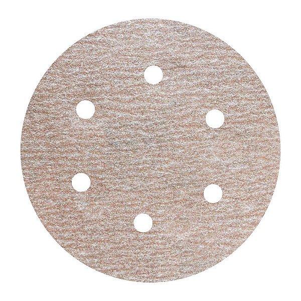 Caixa com 100 Disco de Lixa Pluma A275 Grão 150 152 x 0 x 6 mm
