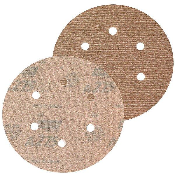 Caixa com 100 Disco de Lixa Pluma A275 Grão 400 152 x 0 x 6 mm