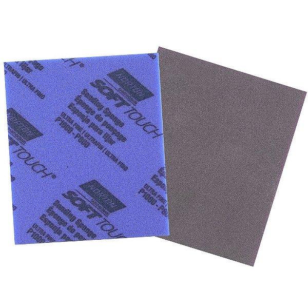 """Caixa com 80 Espuma Abrasiva Nº 4 Grão 800 a 1000 - 114 x 139 x 5 mm (4.1/2"""" x 5.1/2"""" x 3/16"""")"""