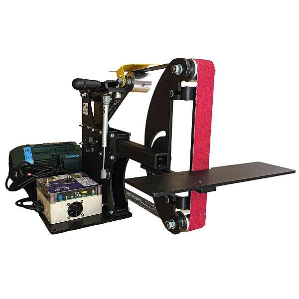 Lixadeira para Cutelaria com Motor Elétrico 2CV e Inversor de Frequência - 50 x 2000 mm