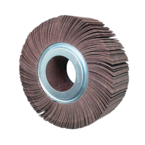 Roda de Lixa Flap PG Polikontour PK KA169 Óxido de Alumínio Grão 220 - 50 x 150 mm