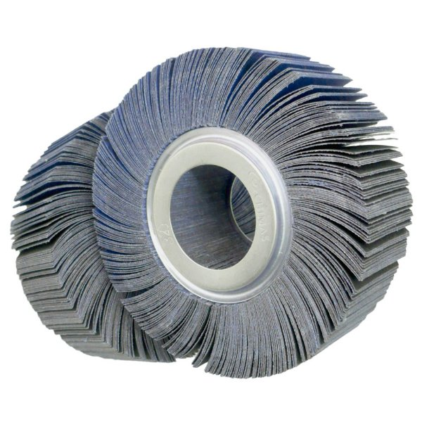 Roda de Lixa Flap PG Polikontour PK R363 Óxido de Alumínio Azul Grão 320 - 50 x 150 mm
