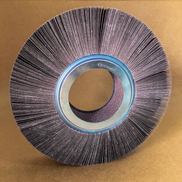 Roda de Lixa Flap PG Polikontour PK KA169 Óxido de Alumínio Grão 60 - 50 x 200 mm