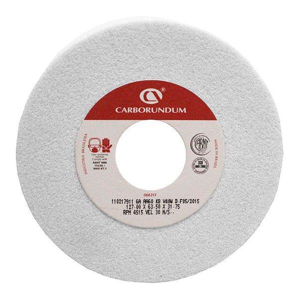 Rebolo Ferramentaria Óxido de Alumínio Branco Copo Reto 127 x 63,5 x 31,75 mm 6A AA60 K8V40W