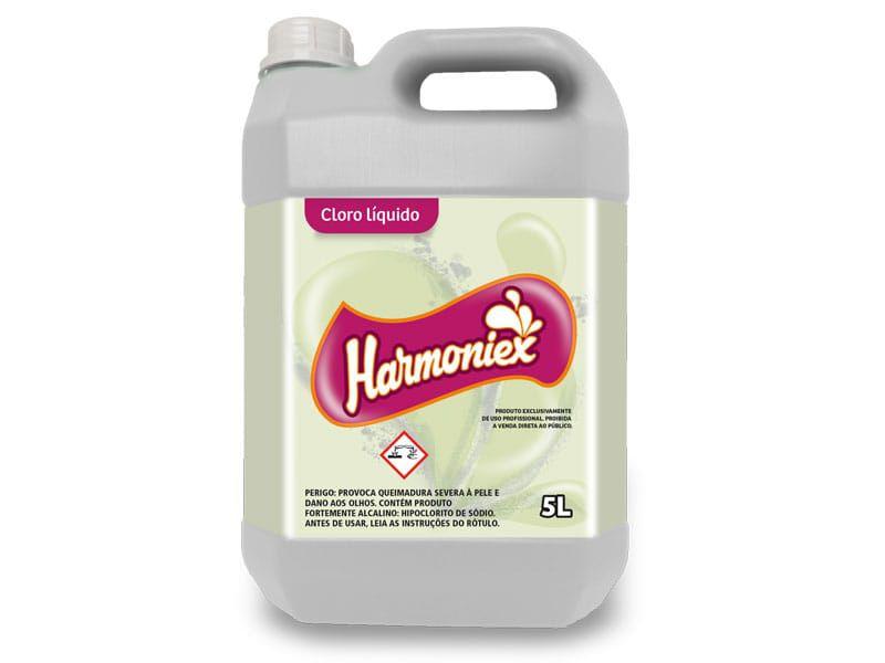 Cloro Liquido 5 Litros Harmoniex