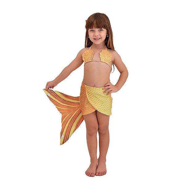 Saia Sereia Malu Amarela