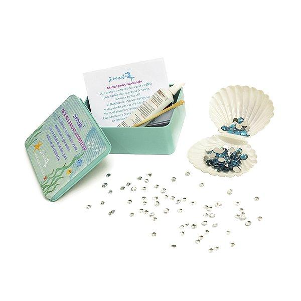 Kit Customização Azul - Caudas encantadas