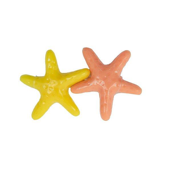 Presilha Estrela do Mar salmão e amarela