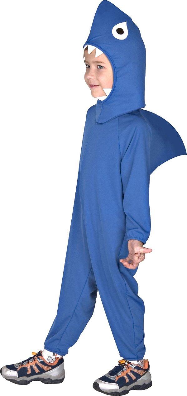 Fantasia Tubarão Azul