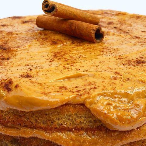 Torta de Churros Fit Congelada   1,2kg   22 cm de diâmetro