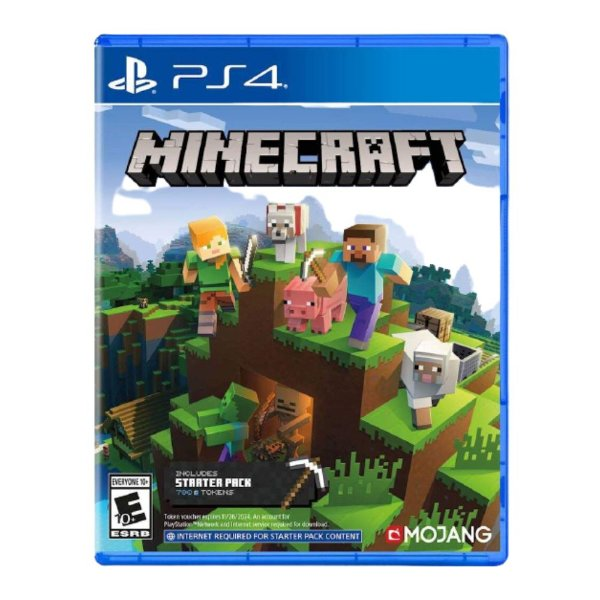 Minecraft Starter Pac Collection - PS4