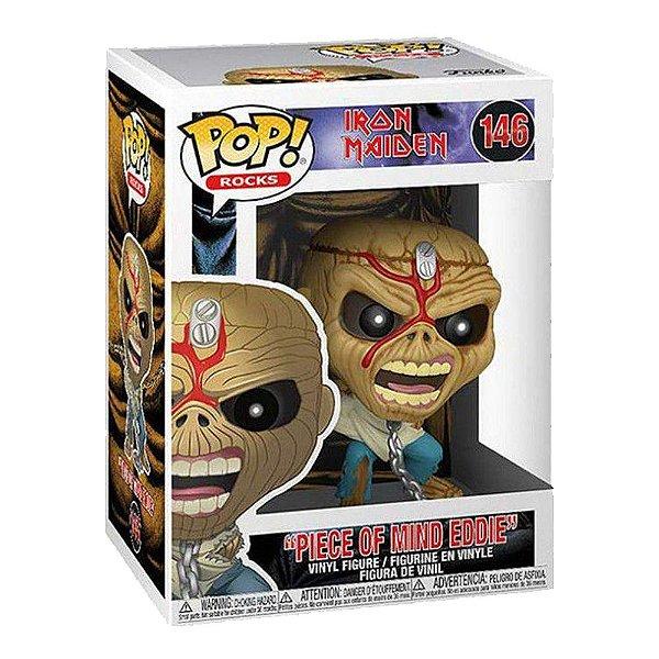 Funko Pop! Pop Rocks Iron Maiden - Piece of Mind Eddie