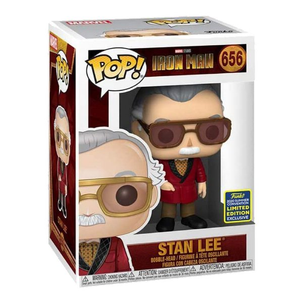 Funko Pop! Marvel: Iron Man - Stan Lee- Edição Limitada Exclusivo
