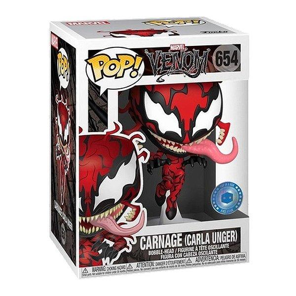 Funko Pop! Marvel: Carnage (Carla Unger) - Venom - Edição Especial
