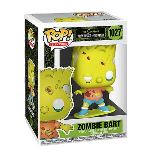 Funko Pop! Television: The Simpsons - Treehouse Of Horror - Zombie Bart