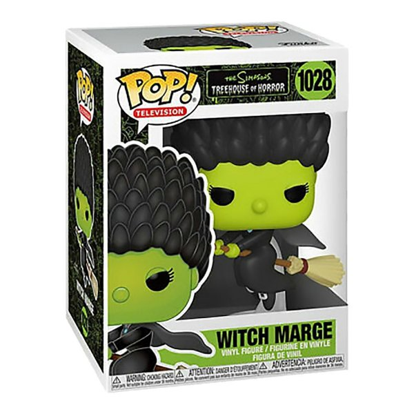 Funko Pop! Television: The Simpsons - Treehouse Of Horror - Marge Witch