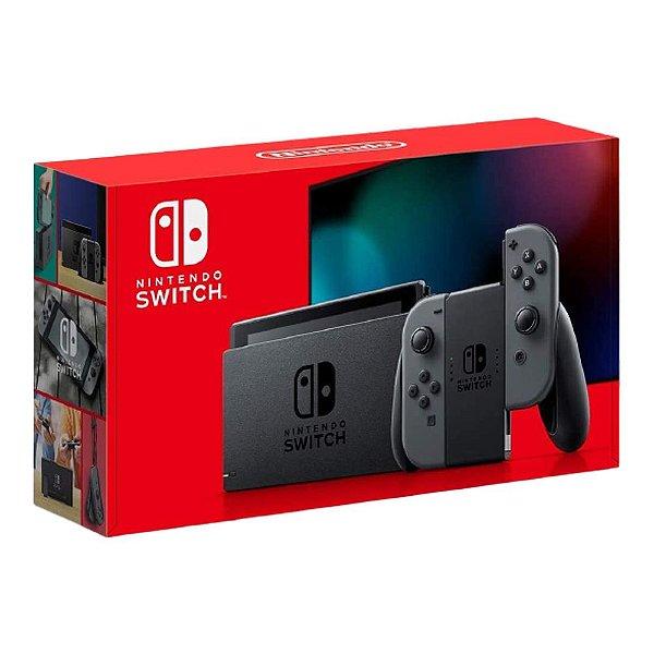 Console Nintendo Switch Com Joy-Con Cinza