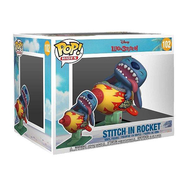 Funko Pop! Rides - Lilo & Stitch - Stitch In Rocket