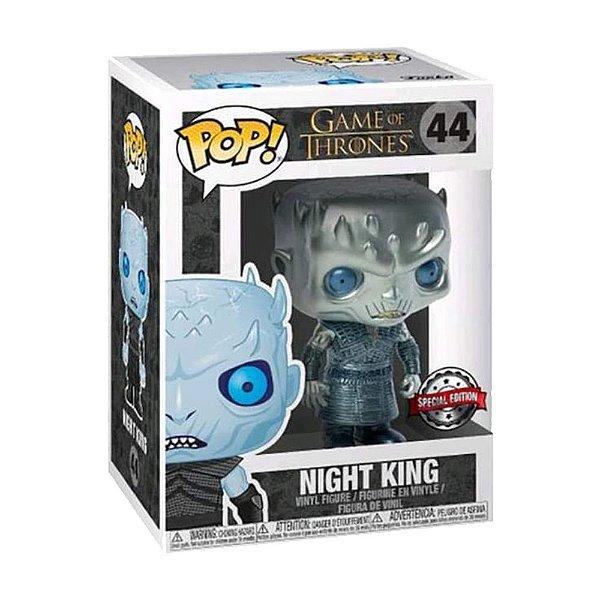 Funko Pop! Game of Thrones - Night King (Metallic) - Edição Especial