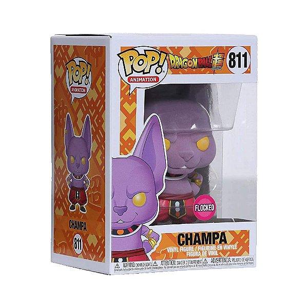 Funko Pop! Animation - Dragon Ball Super - Champa - Flocked - Edição Especial