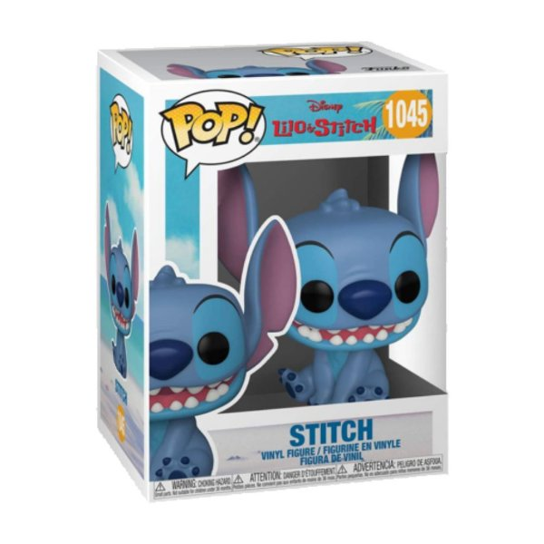 Funko Pop! Disney - Lilo & Stitch - Stitch Seated Smiling