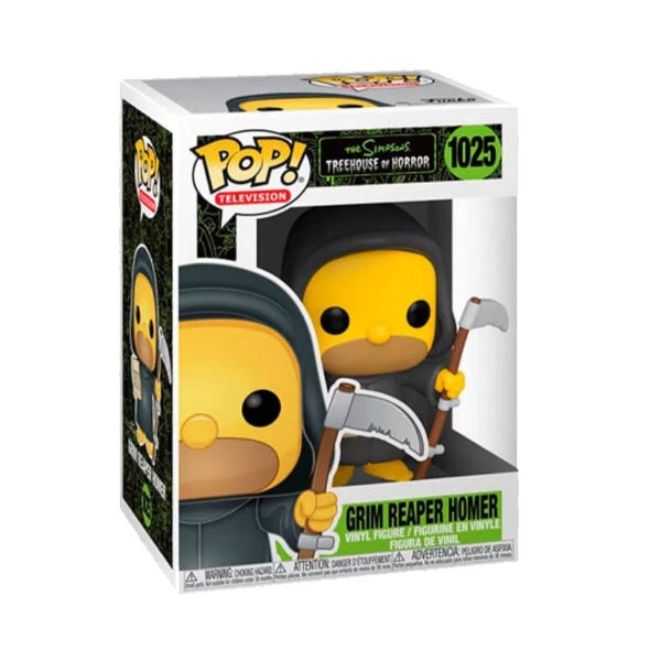 Funko Pop! Television - Simpsons Treehouse of Horror - Homer Grim Reaper