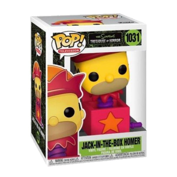 Funko Pop! Television - Simpsons Treehouse of Horror - Homer Jack In The Box