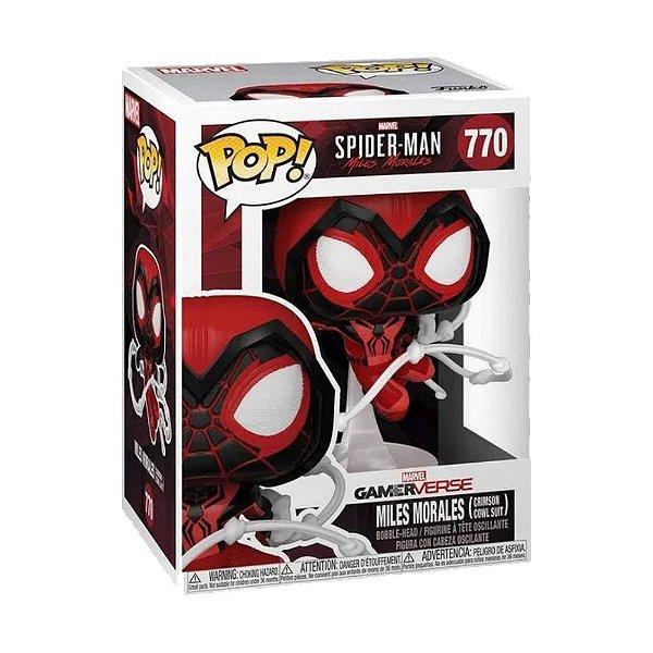 Funko Pop! Marvel - Spider Man - Miles Morales Crimson Cowl Suit
