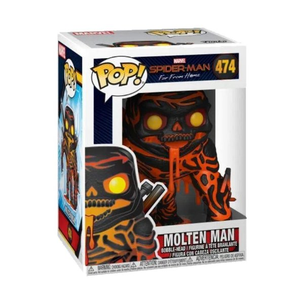 Funko Pop! Marvel Spider Far from Home - Molten Man