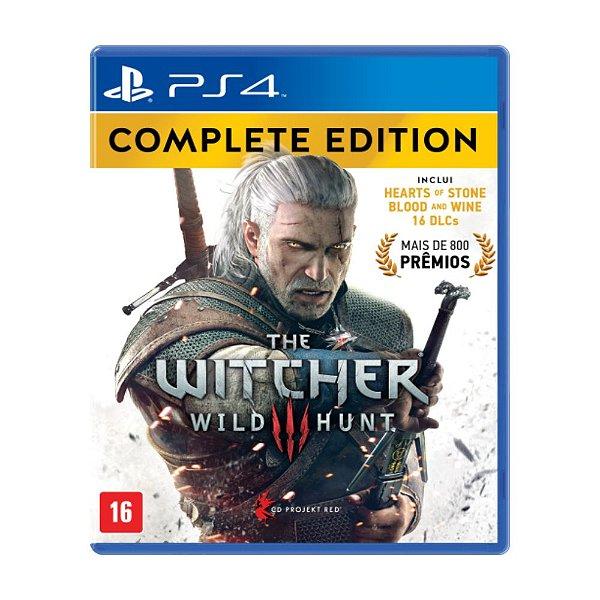The Witcher III Wild Hunt: Edição Completa - PS4