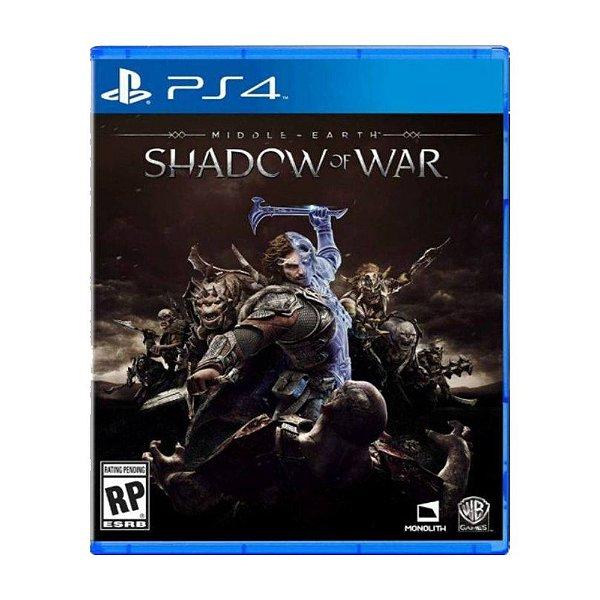 Terra-Média: Sombras da Guerra - PS4