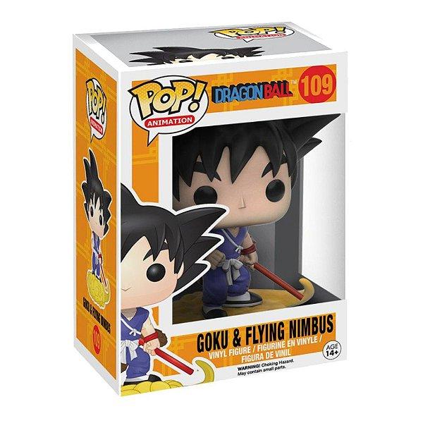Funko Pop! Animation: Dragonball - Goku E Flying Nimbus