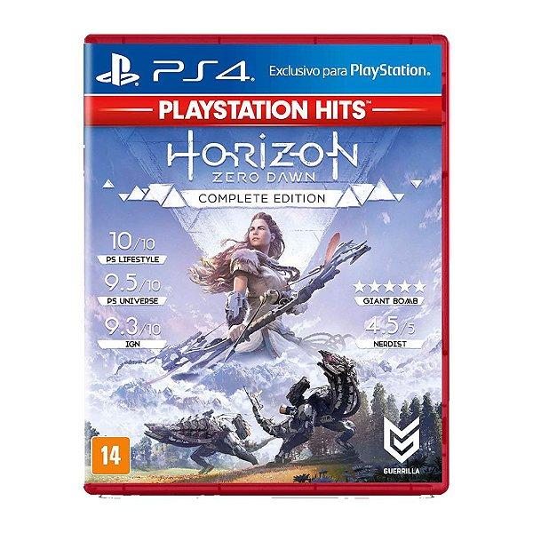 Horizon Zero Dawn Complete Edition - PS4