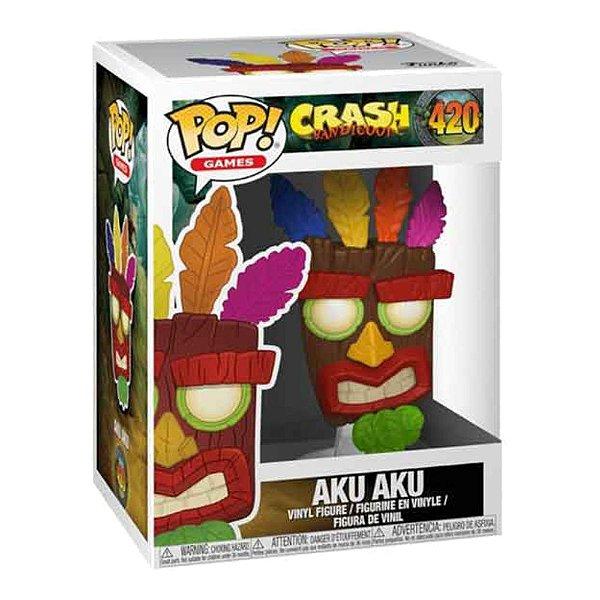Funko Pop! Game: Crash Bandicoot 2 - Aku Aku