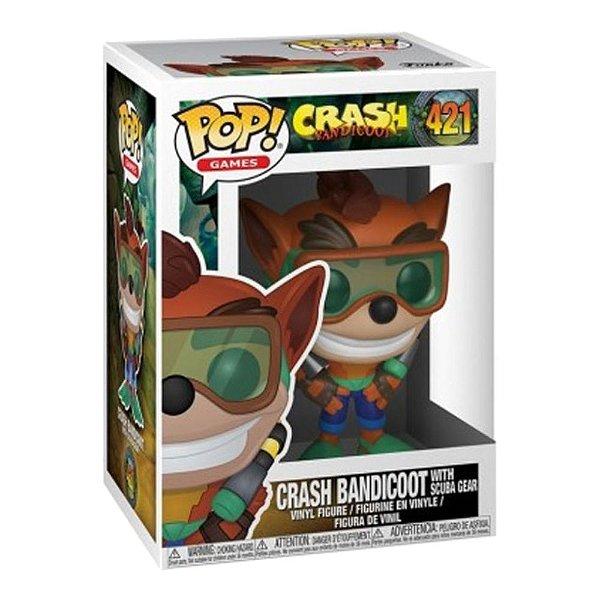 Funko Pop! Game: Crash Bandicoot 2 - Crash Scuba Gear