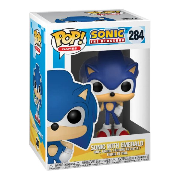 Funko Pop! Game: Sonic The Hedgehog - Sonic With Emerald