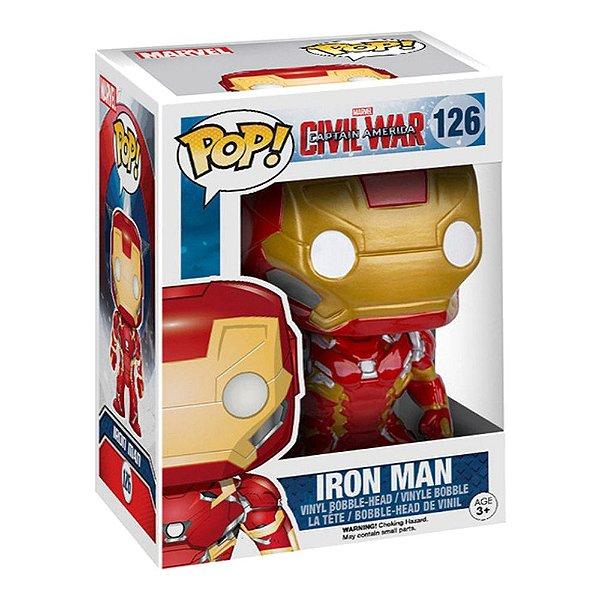 Funko Pop! Marvel: Civil War - Iron Man