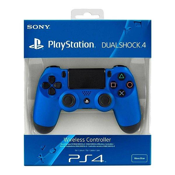 Controle Sem Fio Dualshock 4 Sony Blue - PS4