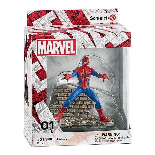 Estatueta Homem Aranha (Spider-Man) - Marvel - Schleich