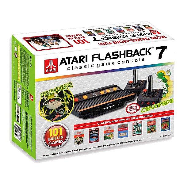 Console Atari Flashback 7 com 101 jogos na memória
