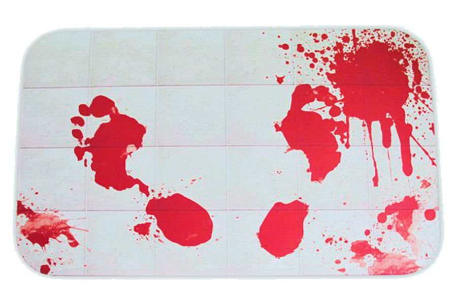 Tapete Manchas de Sangue - Decoração - GeeK