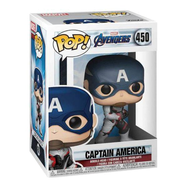 Funko Pop! Marvel: Avengers Endgame - Capitão América