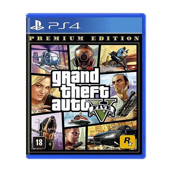 Grand Theft Auto V Premium Edition - PS4