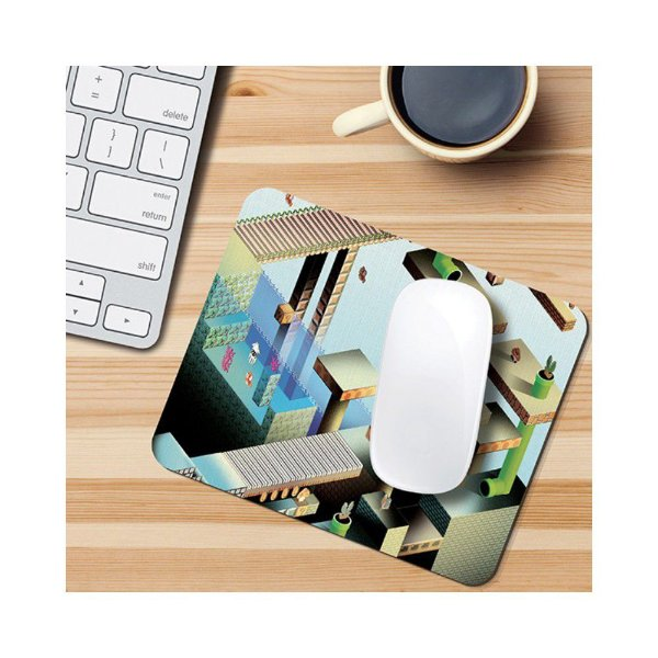 Mouse Pad - Mario Levels - Game