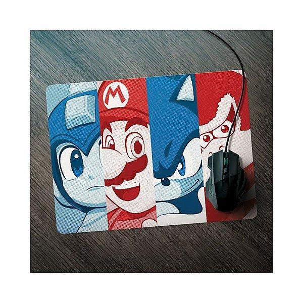 Mouse Pad - Jogos Retrô- Game