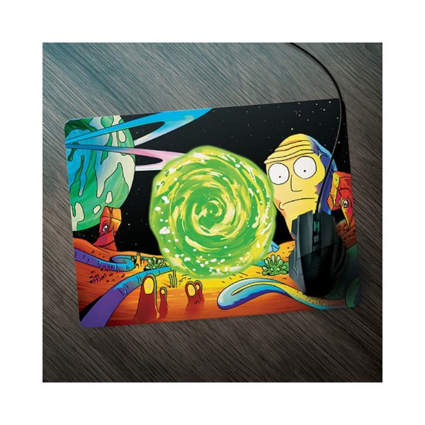 Mouse Pad - Rick and Morty - Série